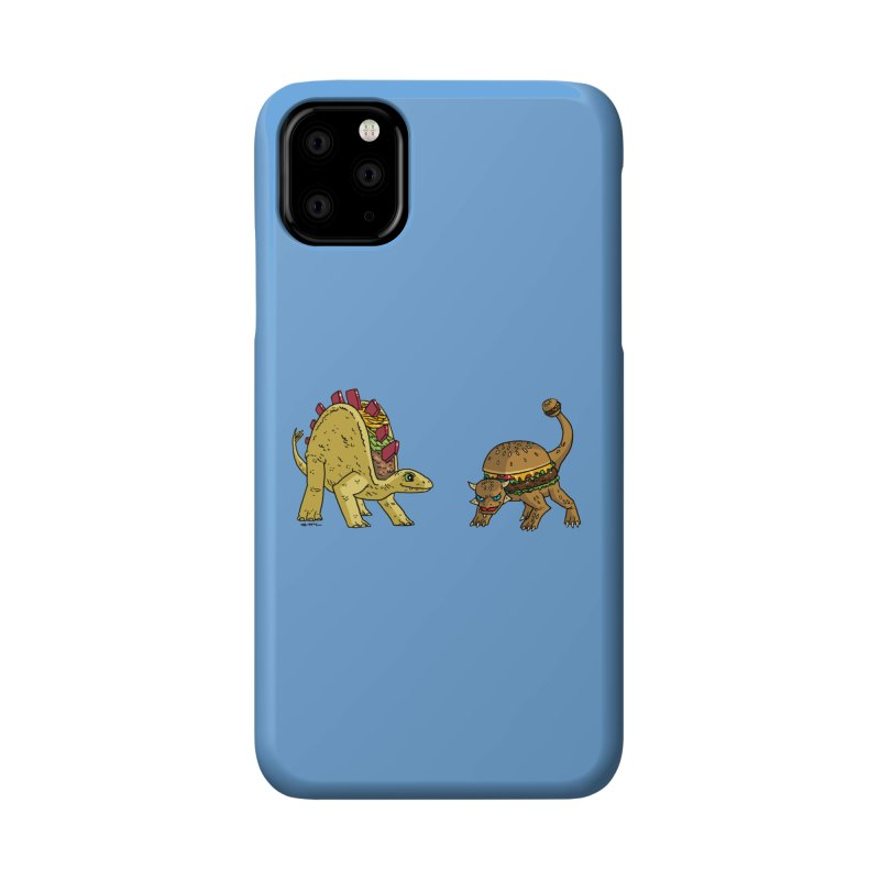 Taco and Burgersaurus Accessories Phone Case by brianmcl's Artist Shop