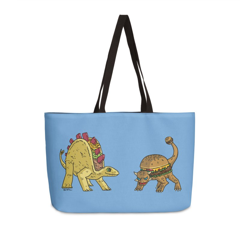 Taco and Burgersaurus Accessories Weekender Bag Bag by brianmcl's Artist Shop