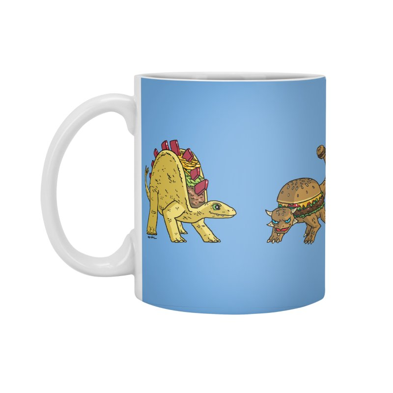 Taco and Burgersaurus Accessories Standard Mug by brianmcl's Artist Shop
