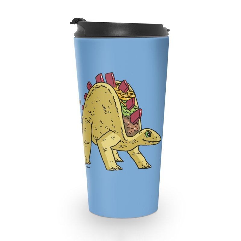 Taco and Burgersaurus Accessories Travel Mug by brianmcl's Artist Shop