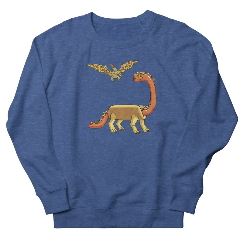 Brontodog and Pizzadactyl Men's Sweatshirt by brianmcl's Artist Shop