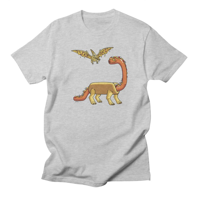 Brontodog and Pizzadactyl Men's T-Shirt by brianmcl's Artist Shop