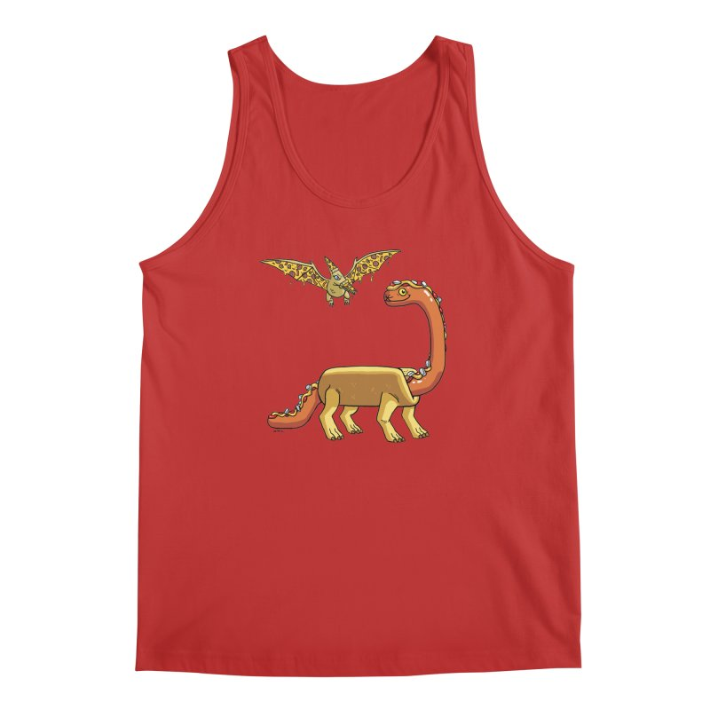 Brontodog and Pizzadactyl Men's Regular Tank by brianmcl's Artist Shop