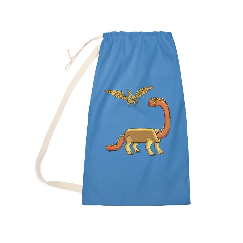 Brontodog and Pizzadactyl Accessories Laundry Bag Bag by brianmcl's Artist Shop