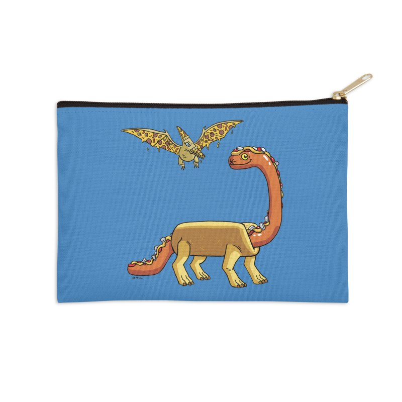 Brontodog and Pizzadactyl Accessories Zip Pouch by brianmcl's Artist Shop