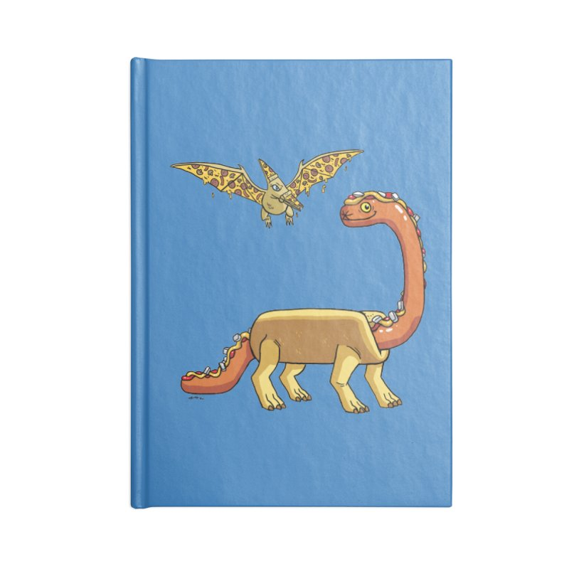 Brontodog and Pizzadactyl Accessories Lined Journal Notebook by brianmcl's Artist Shop