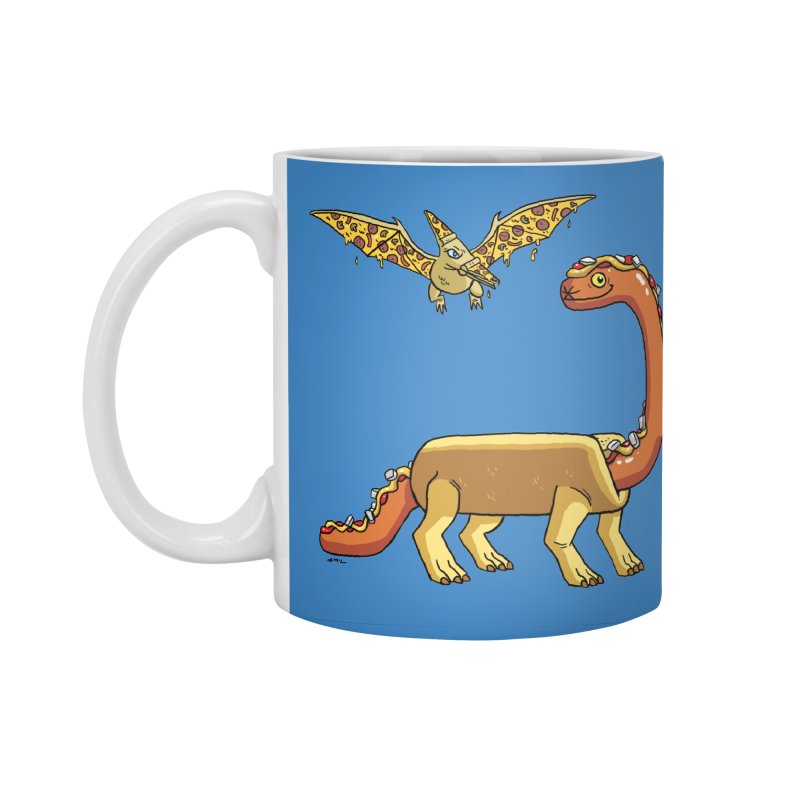 Brontodog and Pizzadactyl Accessories Standard Mug by brianmcl's Artist Shop