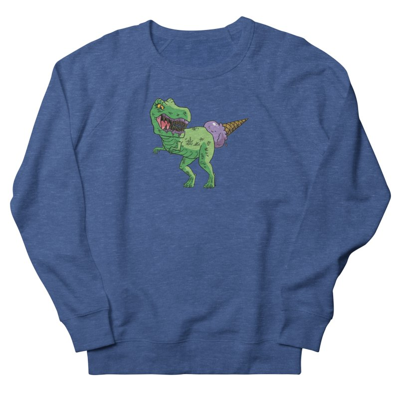 Ice Cream Rex Men's Sweatshirt by brianmcl's Artist Shop