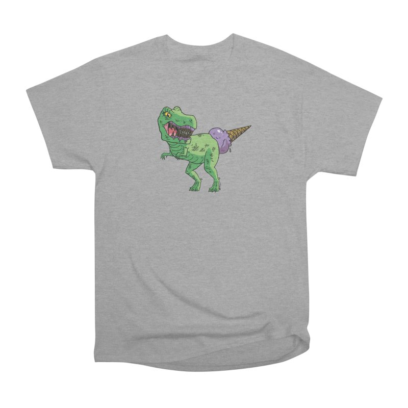 Ice Cream Rex Men's Heavyweight T-Shirt by brianmcl's Artist Shop