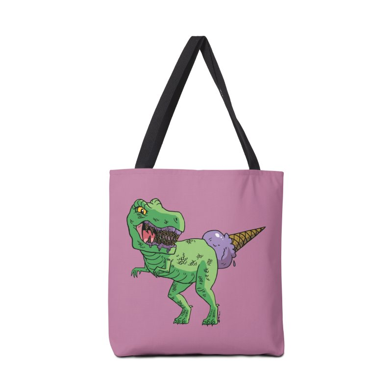 Ice Cream Rex Accessories Tote Bag Bag by brianmcl's Artist Shop