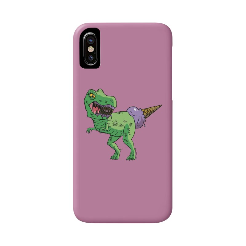 Ice Cream Rex Accessories Phone Case by brianmcl's Artist Shop