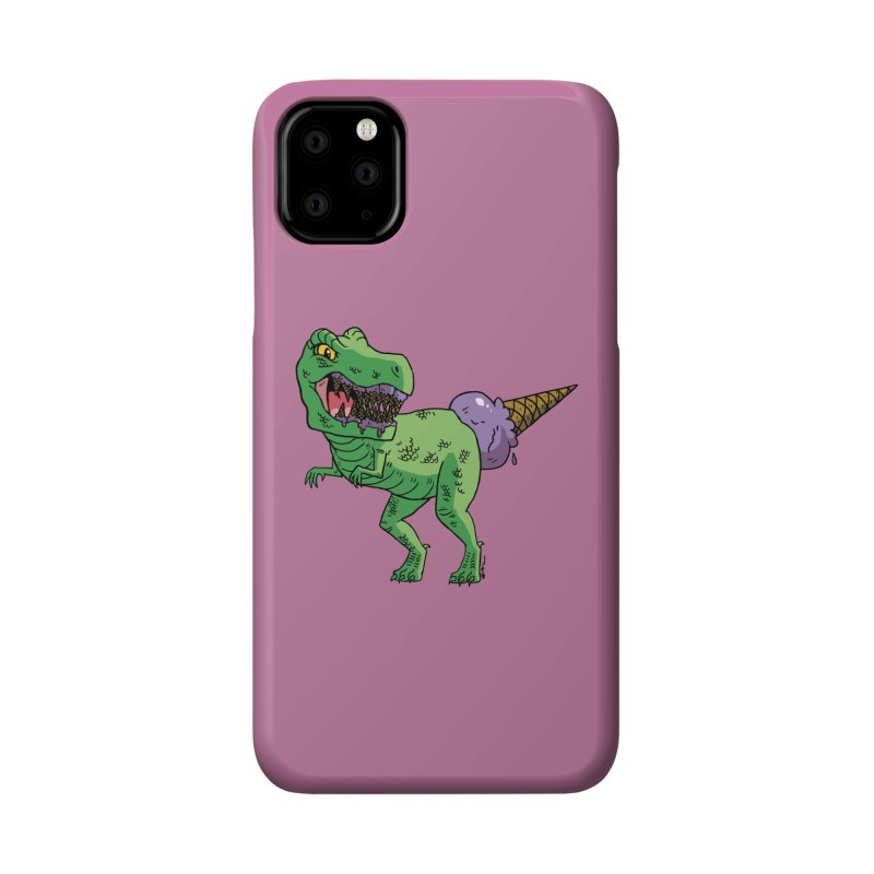 Ice Cream Rex Accessories Phone Case by brianmcl's Artist Shop