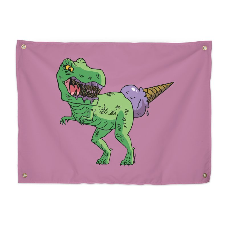 Ice Cream Rex Home Tapestry by brianmcl's Artist Shop