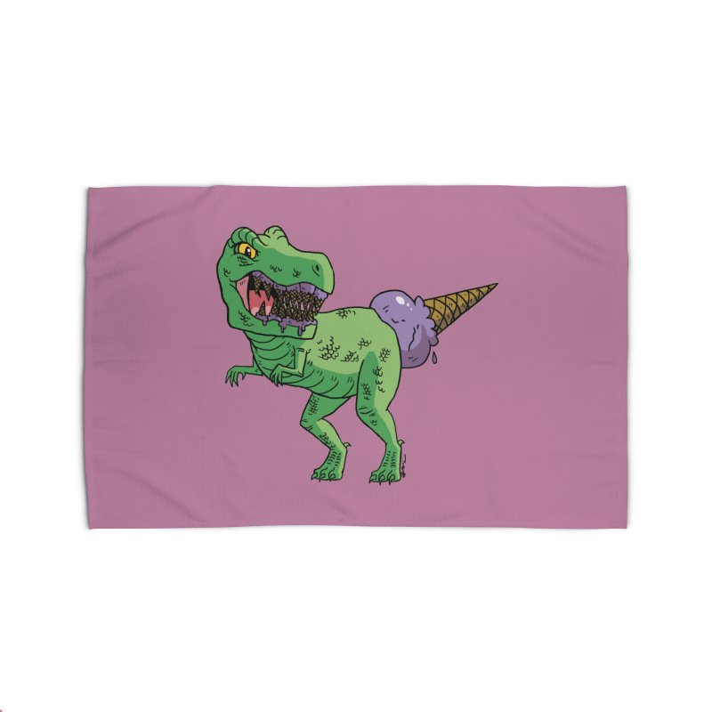 Ice Cream Rex Home Rug by brianmcl's Artist Shop
