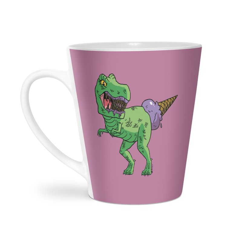 Ice Cream Rex Accessories Latte Mug by brianmcl's Artist Shop
