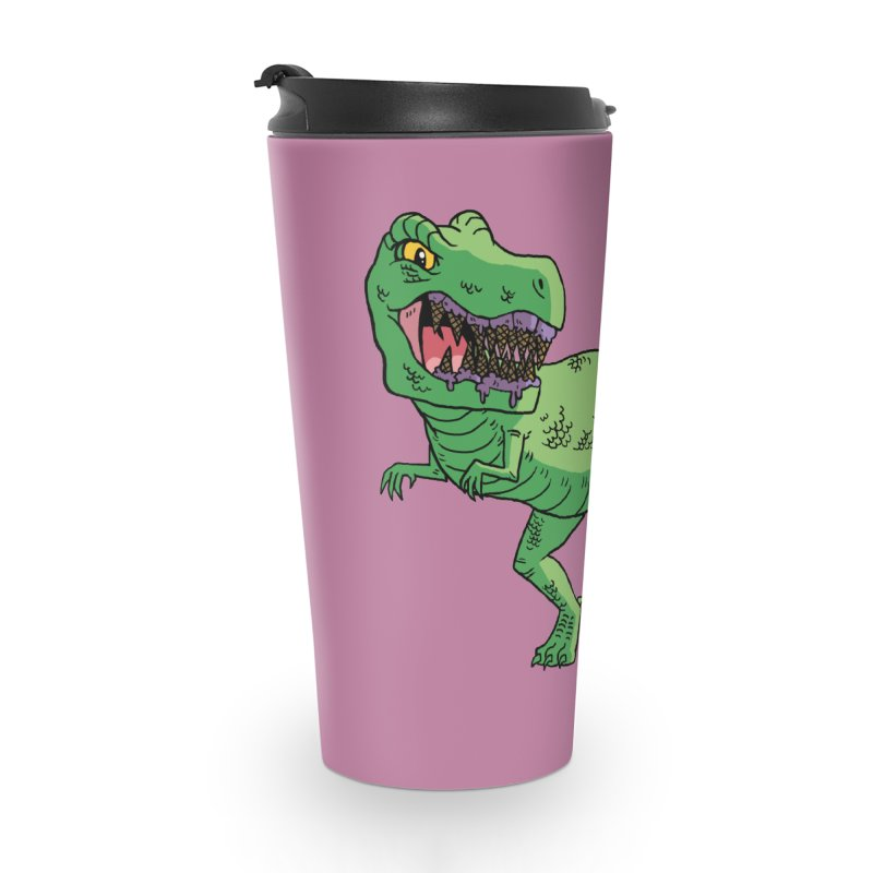 Ice Cream Rex Accessories Travel Mug by brianmcl's Artist Shop