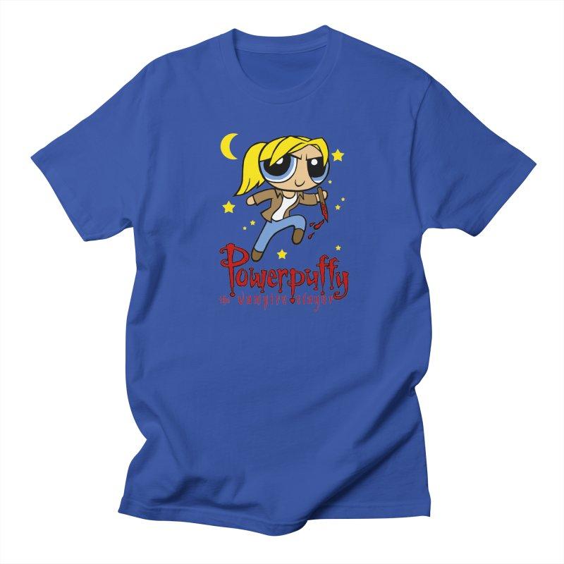 Powerpuffy the Vampire Slayer Men's Regular T-Shirt by brianmcl's Artist Shop