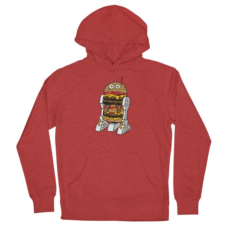 Burgerbot Men's Pullover Hoody by brianmcl's Artist Shop