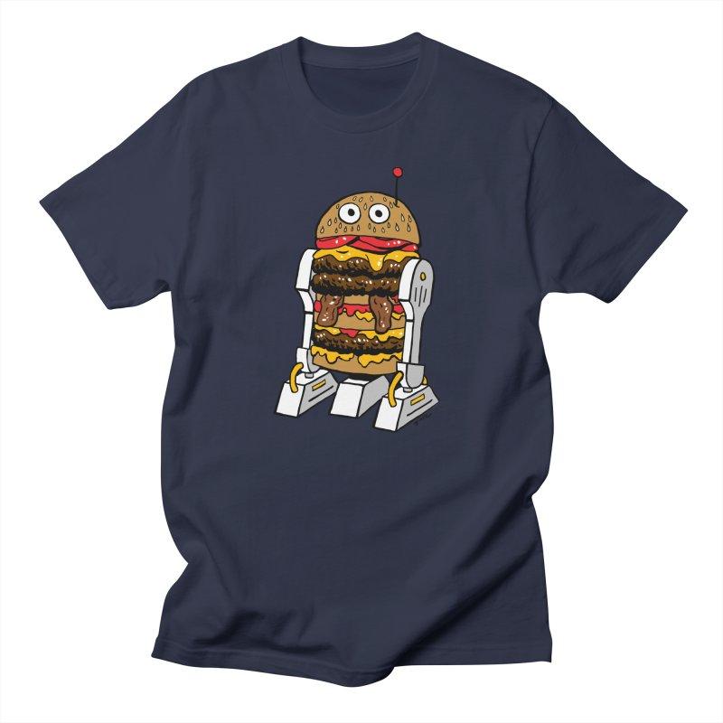 Burgerbot Men's T-Shirt by brianmcl's Artist Shop