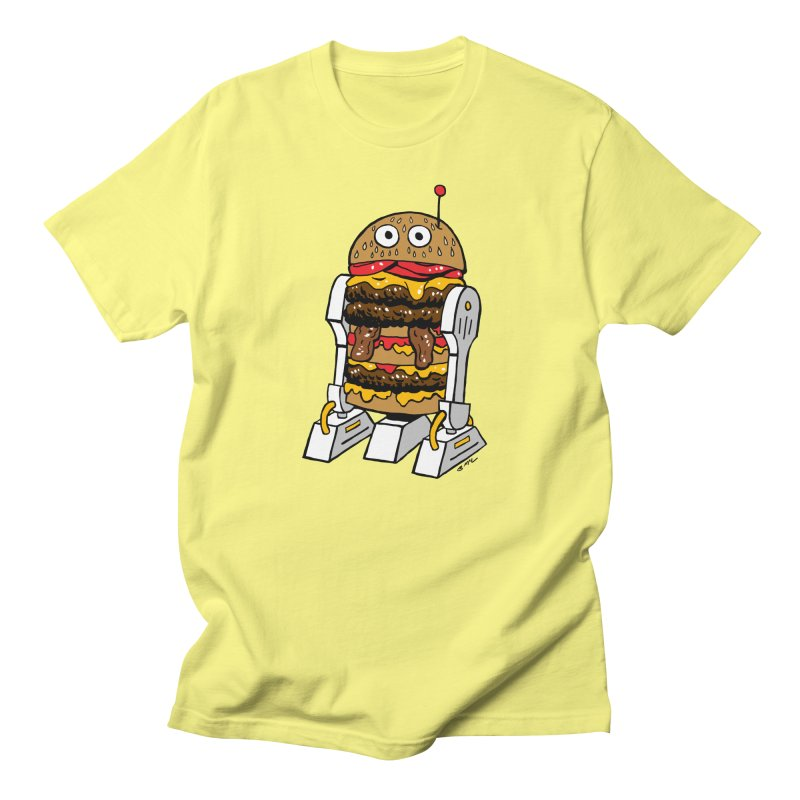 Burgerbot Men's T-Shirt by brianmcl's Artist Shop