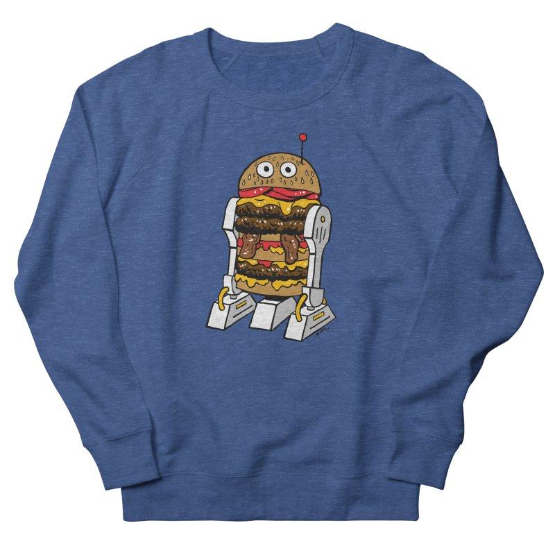 Burgerbot Men's Sweatshirt by brianmcl's Artist Shop