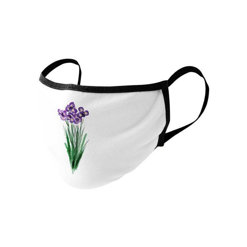 violets Accessories Face Mask by Brianna Santo