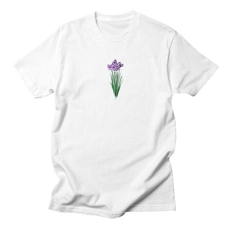 violets Men's T-Shirt by Brianna Santo