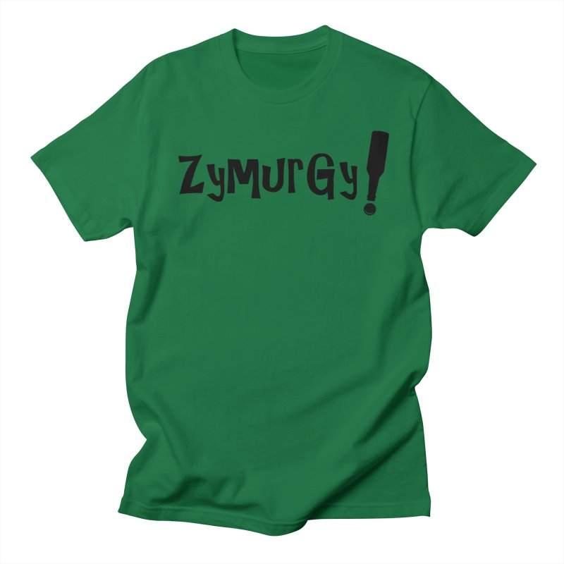 Zymurgy! (black text) Men's Regular T-Shirt by Brian's Belly: Be The Beer