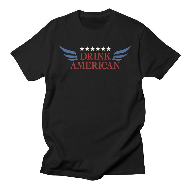 Drink American Men's T-Shirt by Brian's Belly: Be The Beer