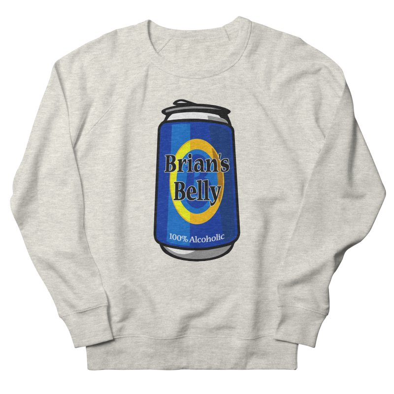 Brian's Belly 100% Alcoholic Men's Sweatshirt by Brian's Belly: Be The Beer