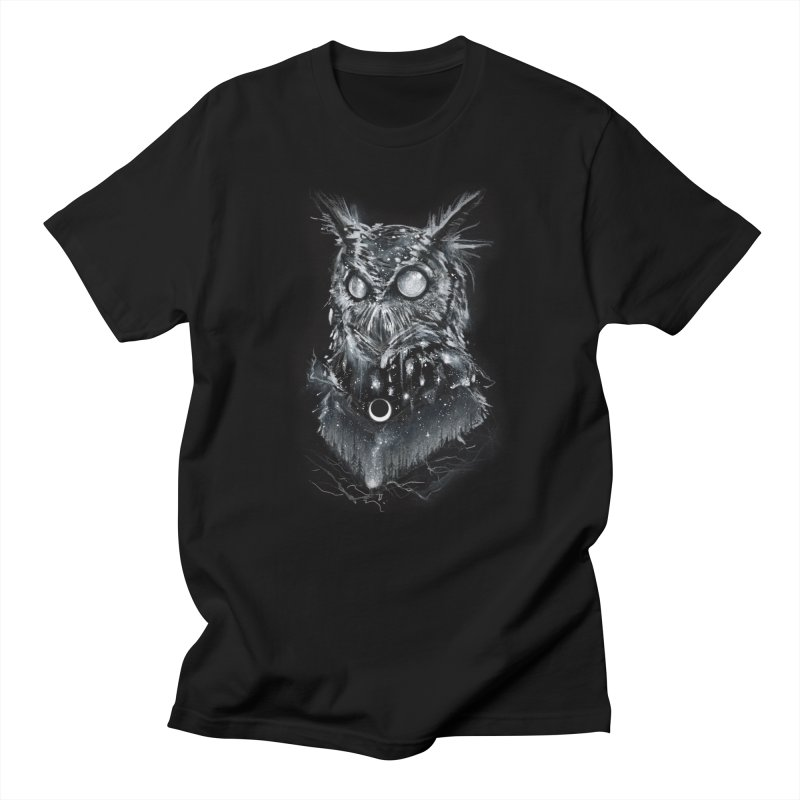 Gloam Ember in Men's Regular T-Shirt Black by Brian Serway