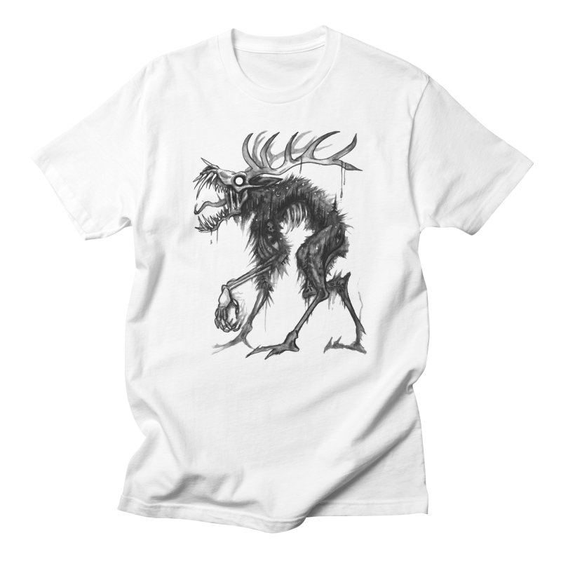 Blackwood Anthropophagy in Men's Regular T-Shirt White by Brian Serway