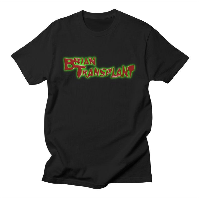 Brian Transplant logo Men's T-Shirt by Brian Transplant