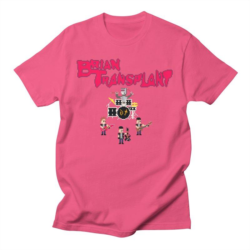 Brian Transplant spooky pixels Men's T-Shirt by Brian Transplant