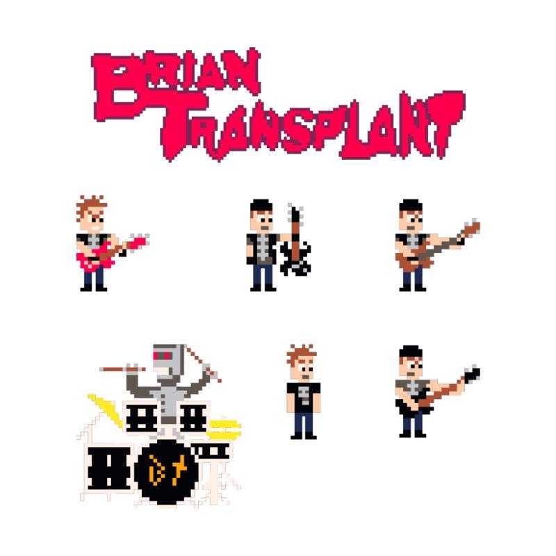 Brian Transplant 8-bit sprite sheet Accessories Sticker by Brian Transplant
