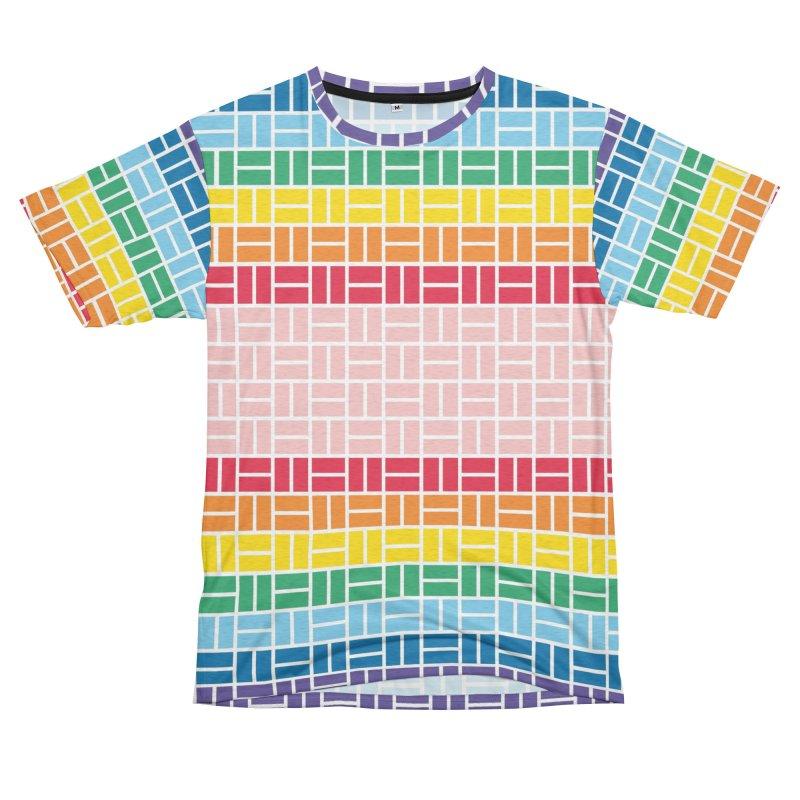 Cut-and-Sew Japan x Pride Cross Hatch Men's Cut & Sew by Brian's Artist Shop