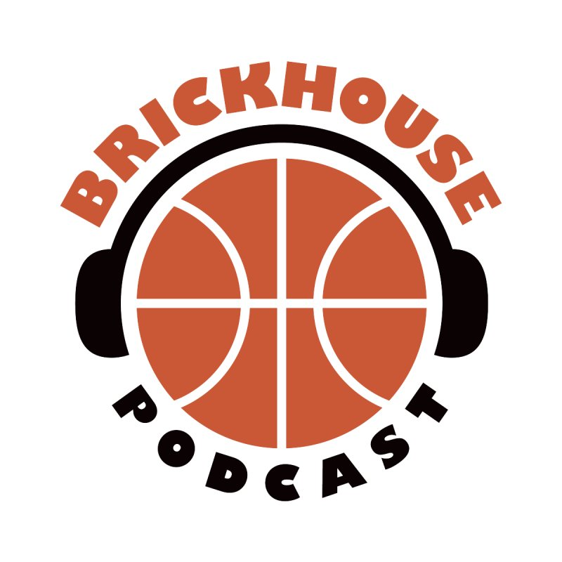 Brickhouse Podcast Logo Wall Art (Flat) Orange/Black   by Brickhouse Podcast Shop