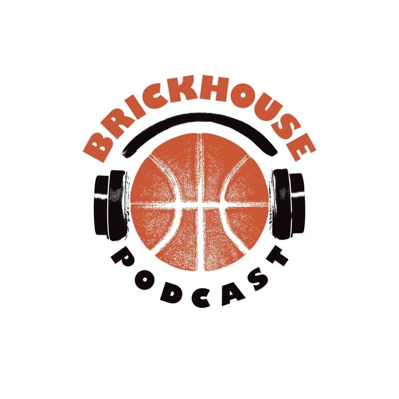 Brickhouse Podcast Logo Wall Art (Pumped) Orange/Black   by Brickhouse Podcast Shop