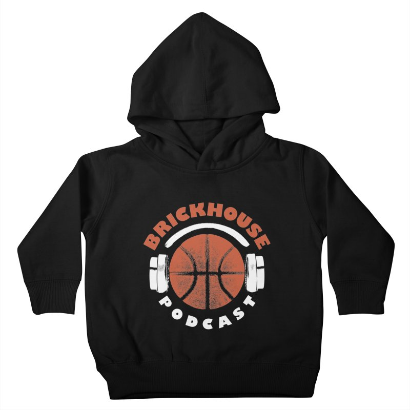 Brickhouse Podcast Logo Apparel (Pumped) Orange/White Kids Toddler Pullover Hoody by Brickhouse Podcast Shop