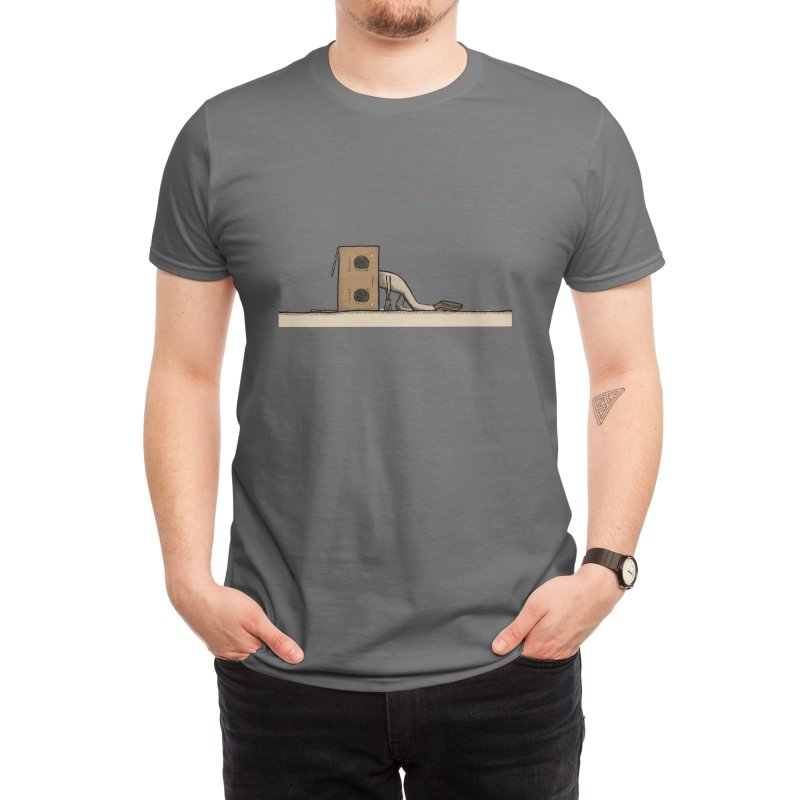 Boxie Need a Break Mental Health Men's T-Shirt by bridartsy's Artist Shop