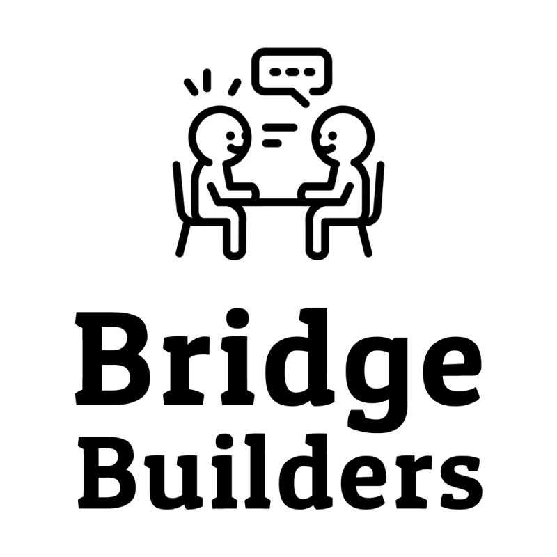 Bridge Builders Black Logo Accessories Notebook by bridgebuilders's Shop