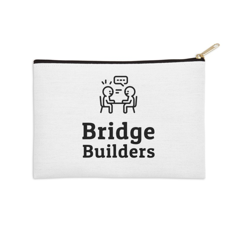 Bridge Builders Black Logo in Zip Pouch by bridgebuilders's Shop