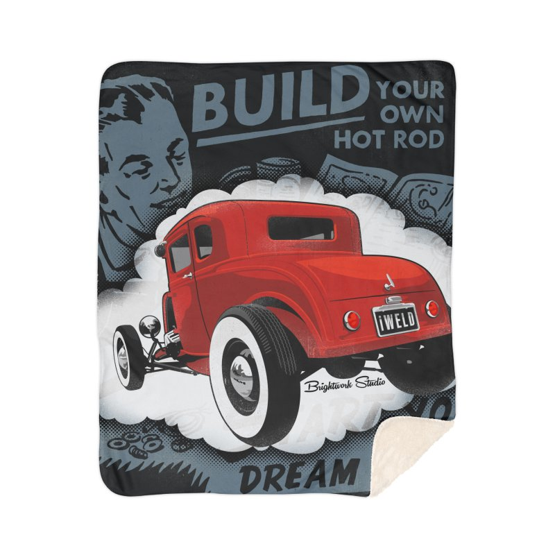 Dream it. Build it. Home Blanket by Brightwork Studio Shop
