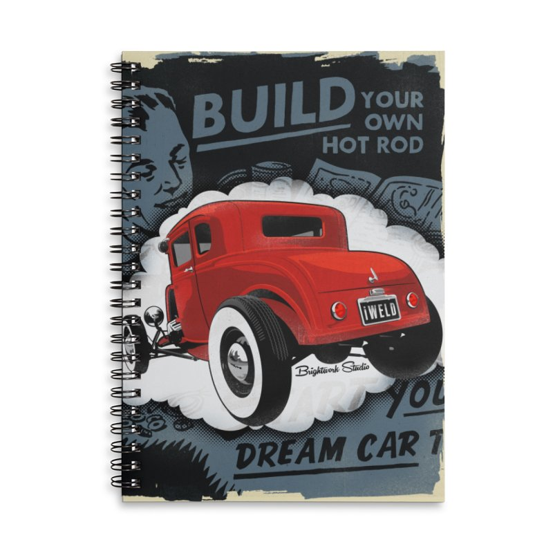Dream it. Build it. Accessories Notebook by Brightwork Studio Shop