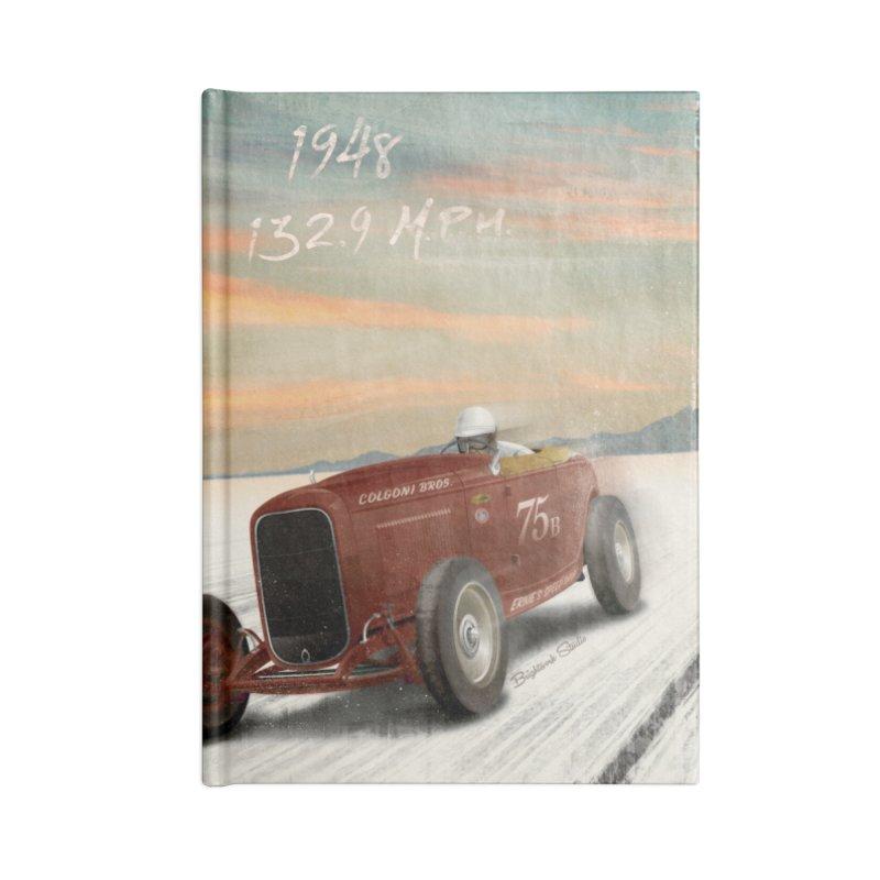 Time Machine Accessories Notebook by Brightwork Studio Shop