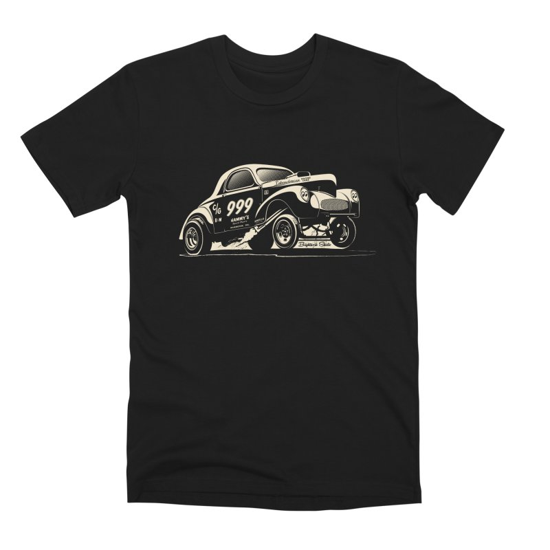 Gassers Go Nuts Men's T-Shirt by Brightwork Studio Shop