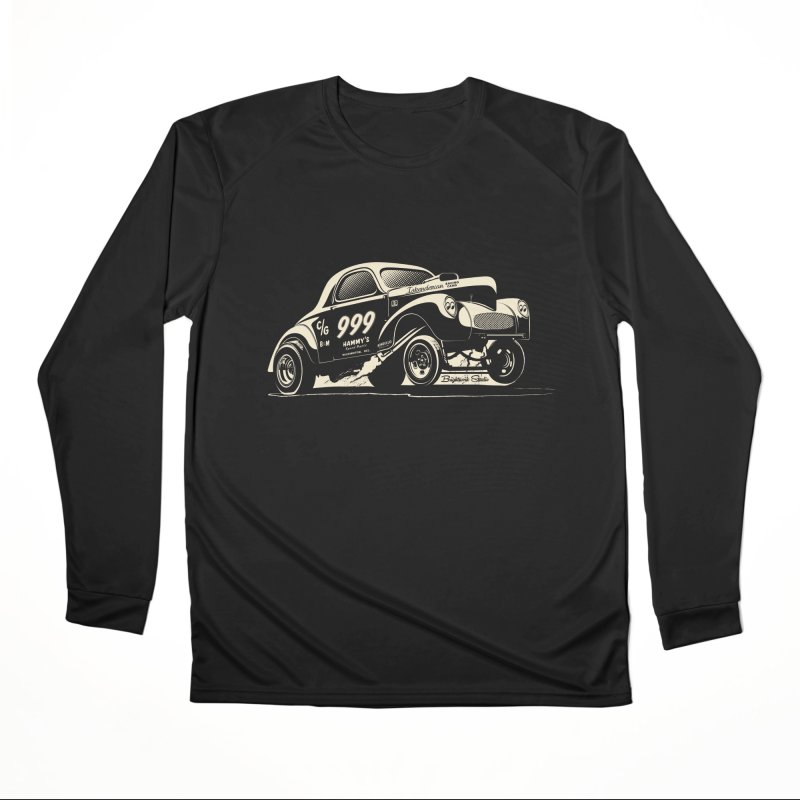 Gassers Go Nuts Men's Longsleeve T-Shirt by Brightwork Studio Shop