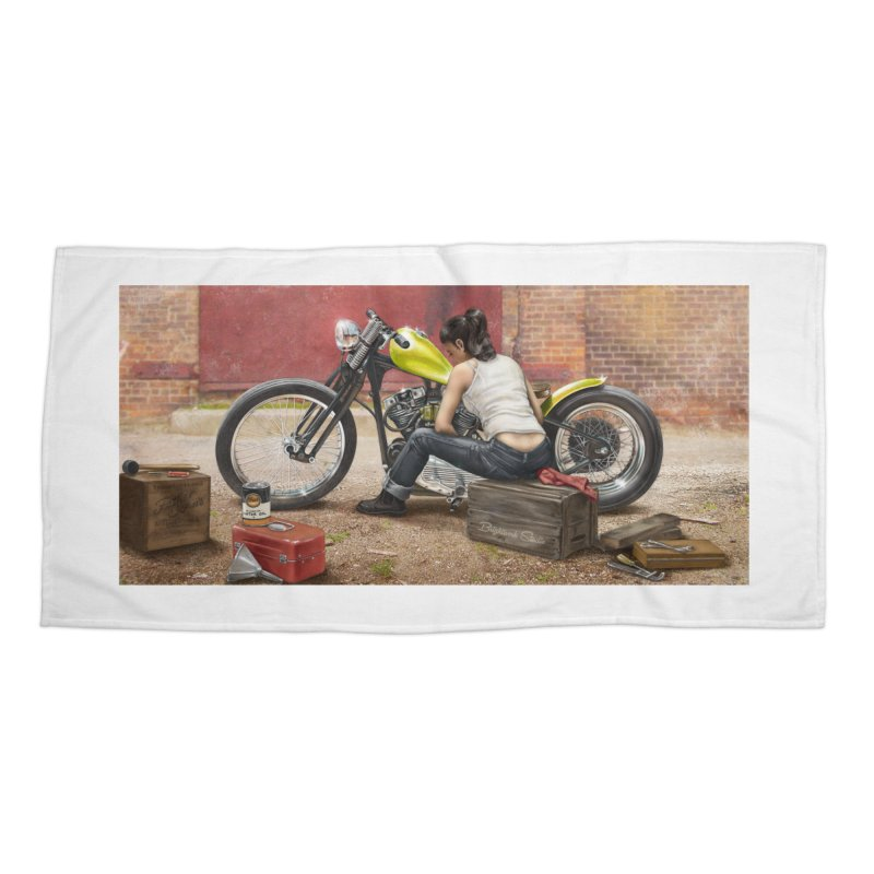 Sunday Afternoon Accessories Beach Towel by Brightwork Studio Shop