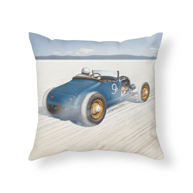 T Roadster Home Throw Pillow by Brightwork Studio Shop
