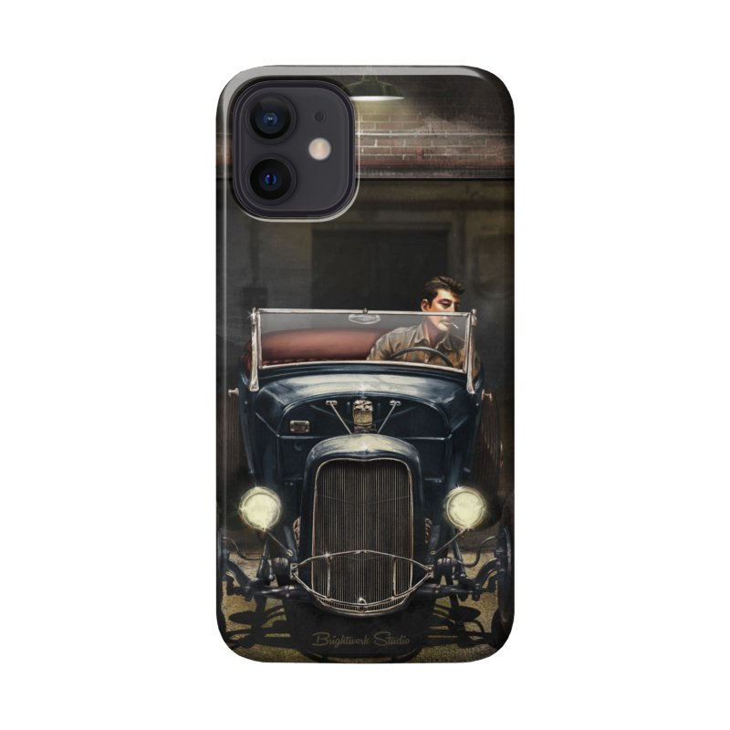 Birth of a Hot Rod Accessories Phone Case by Brightwork Studio Shop